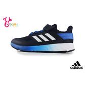 adidas PERFORMANCE FORTAFAITO 中大童 經典三線造型 運動鞋 慢跑鞋 R9356#藍色◆OSOME奧森鞋業