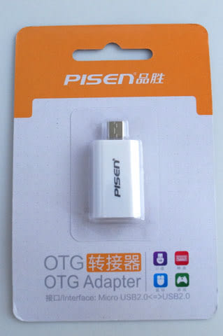 PISEN TS-E099 Micro USB OTG轉接器 可連結滑鼠/鍵盤/隨身碟/讀卡機等設備