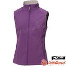 Wildland 荒野 0A72705-57紫色 女SOFTSHELL保暖背心 防寒中層衣/防風外套/防潑水馬甲/爬山健行