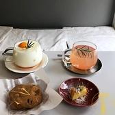 咖啡杯玻璃杯飲料杯甜品慕斯杯子【雲木雜貨】