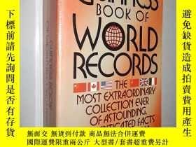 二手書博民逛書店Guinness罕見Book of World s Record