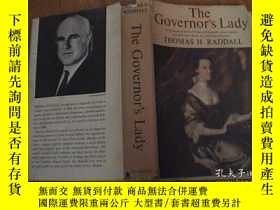 二手書博民逛書店THE罕見GOVERNOR,S LADY州長夫人Y8398 BY