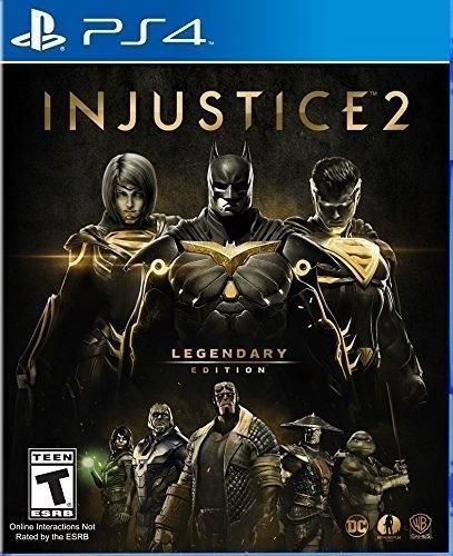 現貨 PS4 超級英雄 2 傳奇版 Injustice 2 亞版英文版