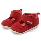 《7+1童鞋》寶寶 ASICS 亞瑟士 AMPHIBIAN BABY FIRST 2 速乾透氣 高筒包覆 機能涼鞋 5253 紅色