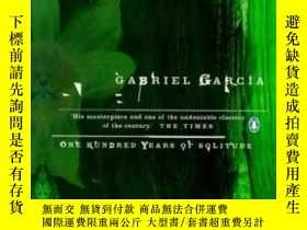 二手書博民逛書店One罕見Hundred Years Of Solitude-百年孤獨Y436638 Gabriel Garc