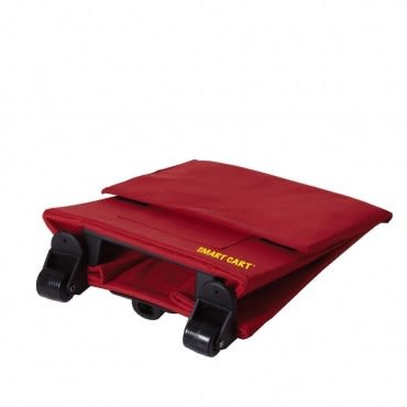 Smart Cart 輕巧折疊拉桿箱 紅色