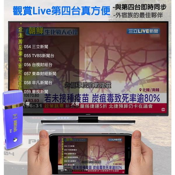 【五代智慧藍】DWlink-36B全自動雙核無線影音電視棒(送4大好禮)