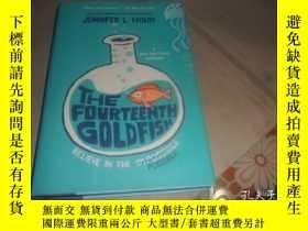 二手書博民逛書店The罕見Fourteenth Goldfish (精裝英文原版)Y6910 Jennifer L. Holm