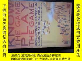二手書博民逛書店c0018know罕見the game ,play the ga