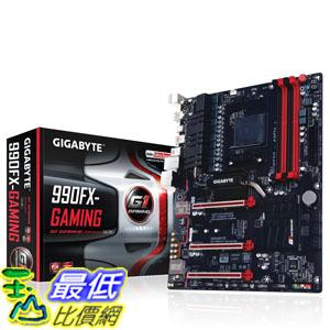 [美國直購] Gigabyte 主機板 AM3+ ALC1150 SATA 6Gb/s USB 3.1 USB 3.0 ATX AMD Gaming Motherboard (GA-990FX)