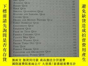 二手書博民逛書店The罕見New Pocket Quiz Book:4000 q