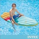INTEX衝浪板造型浮排178x69cm...