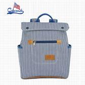 【COLORSMITH】BL.輕巧方形質感後背包.BL1325-BW-XS