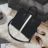公事包女夏天包包電腦包女生單肩包文件包公文包時尚職業斜跨大款女包cp179【野之旅】