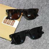太陽眼鏡 潮牌復古歐美潮人偏光太陽眼鏡黑色大框時尚男女士墨鏡 【限時88折】