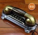 家用電話壁掛式仿古電話機掛墻座機復古創意家用酒店賓館小掛機 爾碩數位3c