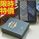 手帕禮盒明星同款-高檔時髦商務純棉質男士配件7款57r8【時尚巴黎】