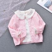 6-12個月幼兒外套毛衣空調衫春秋裝薄款