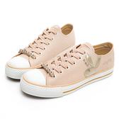 PLAYBOY 繽紛世界 可拆鞋帶釦休閒鞋-米(Y5705米)