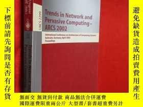 二手書博民逛書店Trends罕見in Network and Pervasive