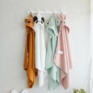 兒童浴巾 包頭動物造型毛巾有機棉兒童浴巾 毛巾布包頭浴巾 88694