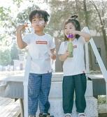 防蚊褲-純棉兒童防蚊褲薄款寬鬆女童燈籠褲男童長褲 提拉米蘇