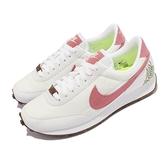 Nike 休閒鞋 Wmns Dbreak SE 白 粉紅 植物刺繡 再生材質 女鞋 【ACS】 DJ1299-100