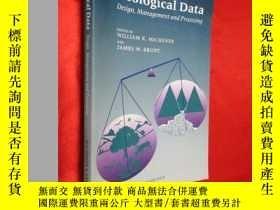 二手書博民逛書店Ecological罕見Data: Design, Manage