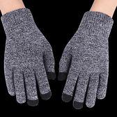 騎行手套 觸屏加厚加絨保暖戶外騎車毛線手套機車手套