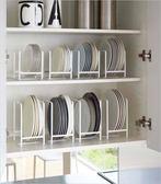 簡約碗碟架廚房置物架瀝水放碗放碟子架碗柜餐具餐盤收納架子盤架【快速出貨八折優惠】