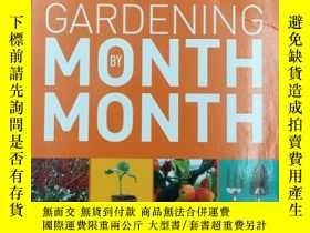 二手書博民逛書店RHS罕見Gardening Month by Month: W