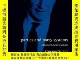 二手書博民逛書店Parties罕見And Party SystemsY364682 Giovanni Sartori Euro