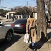 ins超火包夏天帆布手提包2018新款韓國東大門時尚彩色條紋托特包   電購3C