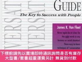 二手書博民逛書店Lifetime罕見Conversation Guide-終身會話指南Y414958 James K. Van