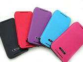 ✔Ucase 原廠*HTC One mini M4 皮革紋 手機 皮套/側掀/側翻/背蓋式皮套/雙色保護套/支架/觀賞架