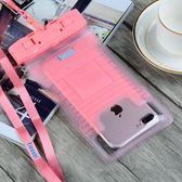 萬聖節大促銷 手機防水袋潛水套觸屏oppoR11蘋果x華為vivoX9plus溫泉游泳