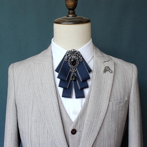 新品男士領結西裝襯衫配飾