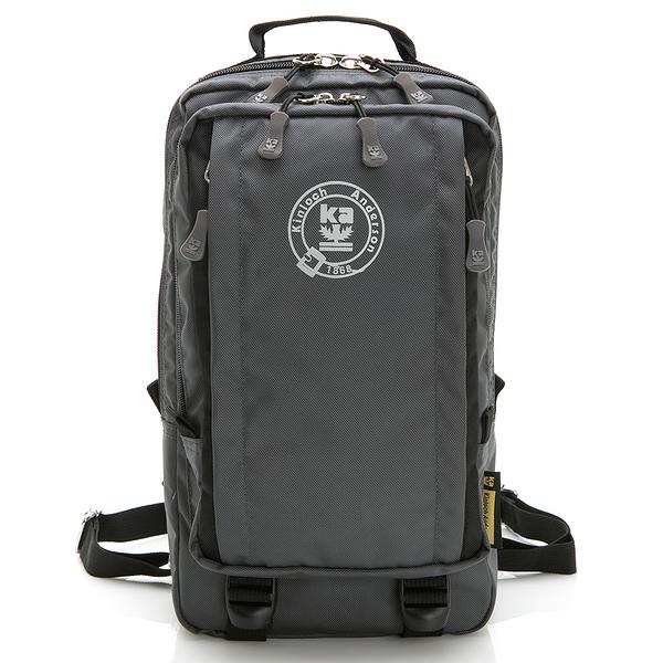 金安德森 極限機能 3Way防潑水多層收納正方後背包-灰黑