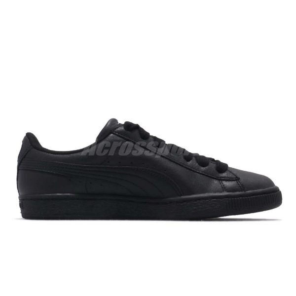 Puma 休閒鞋 Basket Classic LFS 黑 全黑 金標 基本款 皮革 男鞋 女鞋【PUMP306】 35436719
