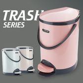 大號腳踏式垃圾桶家用衛生間客廳臥室廚房創意有蓋帶蓋廁所腳踩筒yi【販衣小築】