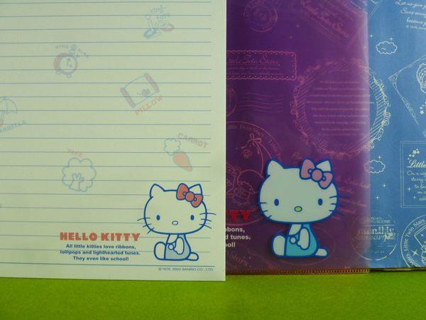 【震撼精品百貨】Hello Kitty 凱蒂貓~傳真便條附夾~側坐~紫【共1款】