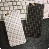 [全館5折-現貨快出] 黑白 格子 線條 簡約 風格 三星 NOTE 3 NOTE 4 透明 軟殼 全包邊 手機殼