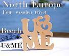 North Europe-北歐風字體熱墊板 隔熱墊 【U&ME】