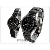 全黑實心不銹鋼材質錶款 精品范倫鐵諾Valentino手錶【NE307】單支價格