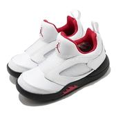 Nike 籃球鞋 Jordan 5 Retro Little Flex PS 白 黑 紅 Fire Red 童鞋 【ACS】 CK1227-100