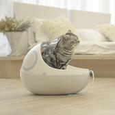 太空艙貓窩冬季保暖咕嚕網紅貓窩四季通用貓咪窩封閉式貓包AQ 有緣生活館