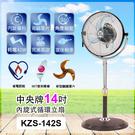 中央牌14吋內旋式循環立扇KZS-142...