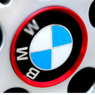 BMW 輪胎裝飾框 X1X3X4X5X6 F20 F30 F31 F10 F07 G11 G12沂軒精品 A0418