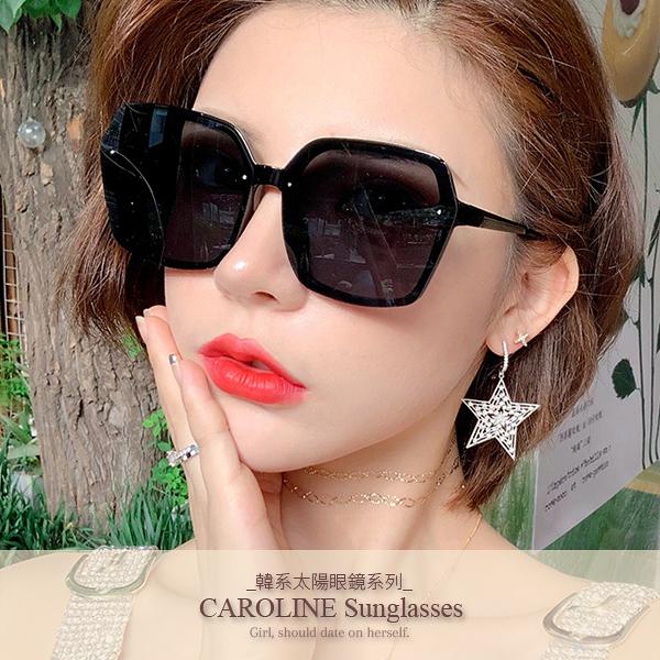 《Caroline》年度最新網紅款潮流百搭抗UV時尚太陽眼鏡 72133