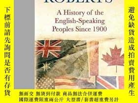 二手書博民逛書店History罕見Of The English Speaking Peoples Since 1900Y256